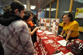 Photo: Last year's All-School Enrollment Fair