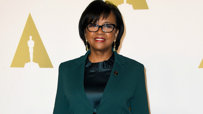 President of the Academy of Motion Picture Arts & Sciences, Cheryl Boone Isaacs attends the 87th Annual Academy Awards Nominee Luncheon at The Beverly Hilton Hotel on February 2, 2015 in Beverly Hills, California. (Photo by Frazer Harrison/Getty Images)