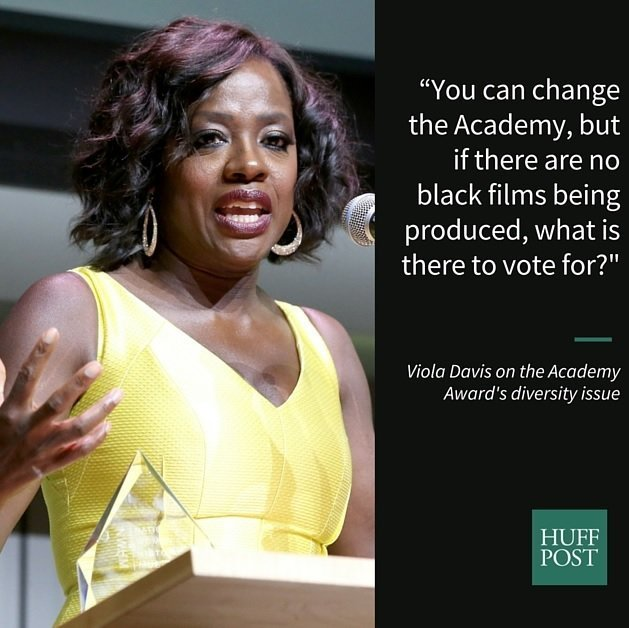 Viola Davis Speaks Out on Academy Awards Boycott