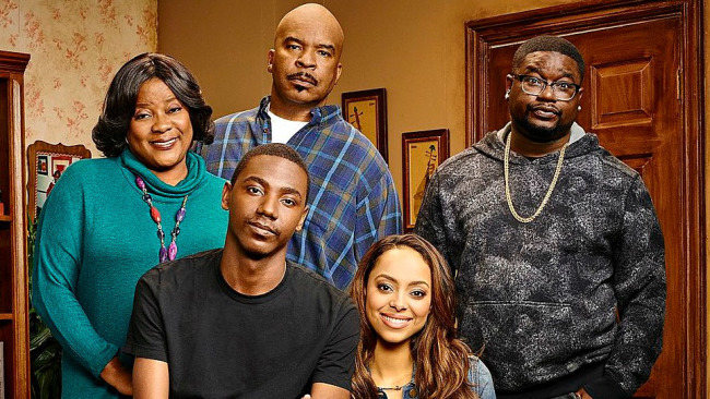 The cast of NBC's 'The Carmichael Show' (Photo by: Matthias Clamer/NBC).