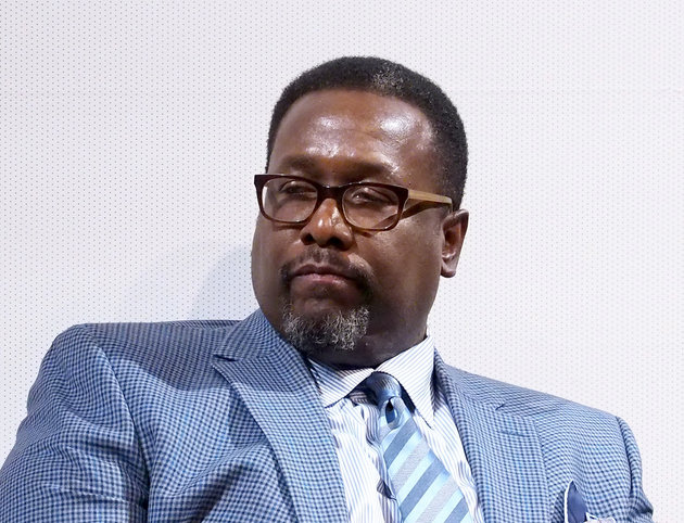 "NEW YORK, NEW YORK - APRIL 07:  Actor Wendell Pierce speaks onstage at the NYC Special Screening of HBO Film ""Confirmation""  at Signature Theater on April 7, 2016 in New York City.  (Photo by Paul Zimmerman/Getty Images for HBO)"