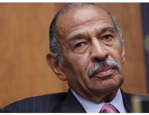 Rep. John Conyers is seen during a hearing on immigration issues on Thursday, Jan. 17, 2008 on Capitol Hill in Washington. (LaurenVictoria Burke/wdcpix.com)