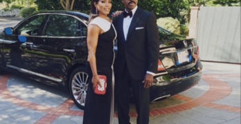 """God Brought Us Together"": Angela Bassett & Courtney B. Vance Celebrate 19 Years Of Marriage"