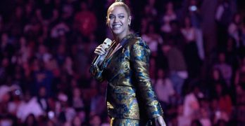 Beyoncé tells audience to 'get in formation' and vote thisNovember