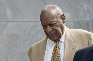 Bill Cosby leaves a pretrial hearing in his criminal sex-assault case at Montgomery County Courthouse in Norristown, Pa., on July 7, 2016.   (AP Photo/Matt Rourke)