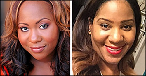 Melody Shere'a (film director) and Monica Simmons (executive producer)