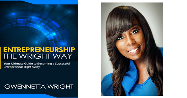 Bookcover and author, Gwenetta Wright