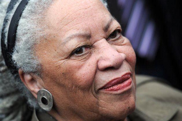 "Nobel-winning US novelist Toni Morrison attends the unveiling ceremony of a memorial bench marking the abolition of slavery in Paris (the first to be inaugurated outside the United States by the Toni Morrison Society) on November 5, 2010 in Paris. Morrison, author of ""Beloved"" and whose poetic novels on slavery and the African-American experience earned her the Pulitzer and Nobel prizes, in 1988 and 1993, was awarded yesterday a city of Paris medal honouring thinkers and artists with strong ties to the capital, a day after receiving France's highest decoration, the Legion of Honour. AFP PHOTO FRANCK FIFE        (Photo credit should read FRANCK FIFE/AFP/Getty Images)"