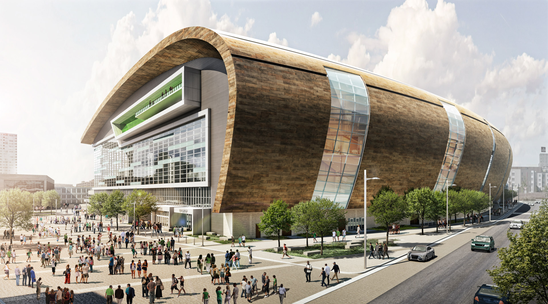 Looking for a Job Working at the NEW Bucks Arena in Milwaukee?