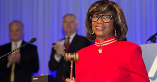 2016 Honoree, Paulette Brown, is the first African American woman to be elected President of the American Bar Association