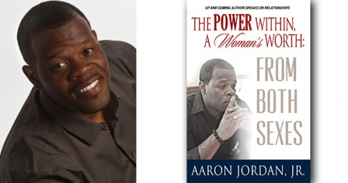 Author Aaron Jordan, Jr and his bookcover