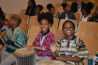Milwaukee Public Schools celebrates the Turnaround Arts Announcement Wednesday.