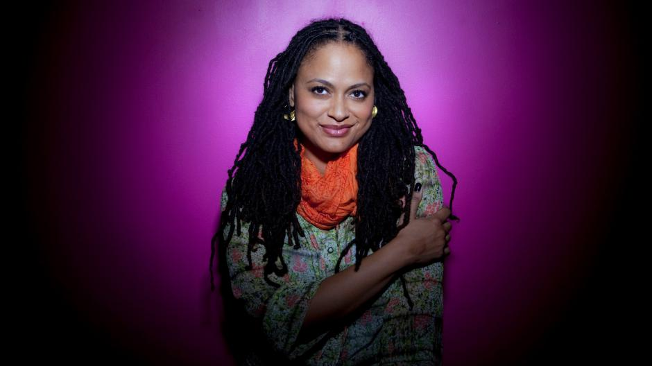 Ava DuVernay is photographed in Los Angeles at the Downtown Independent Theater.  (Photo by Liz O. Baylen/Los Angeles Times via Getty Images)