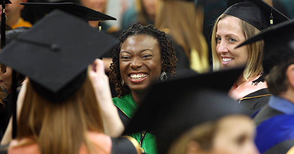 The Medical University of South Carolina's 184th commencement ceremony took place Friday May 17, 2013 at the McAlister Field House on the campus of The Citadel.  The Honorable Donna Christensen, M.D., United States House of Representatives for Virgin Islands, gave the commencement address. (Sarah Bates Pack/MUSC)