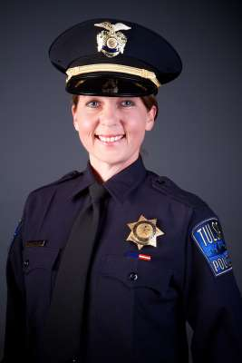 The Associated Press Tulsa police officer Betty Shelby. Police say Shelby fired the fatal shot that killed 40 year-old Terence Crutcher, Sept. 16, 2016. (Tulsa Police Department via AP)
