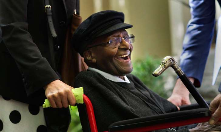 AFP/Getty Images Desmond Tutu: 'For those suffering unbearably and coming to the end of their lives, merely knowing that an assisted death is open to them can provide immeasurable comfort.'