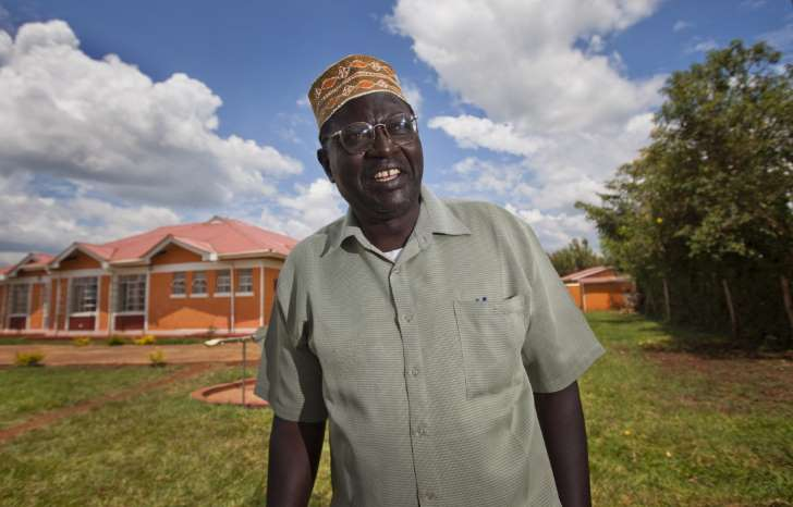 © Ben Curtis/AP Malik Obama, on Nov. 4, 2012, in Kogelo, Kenya, the village where his and Barack Obama's father grew up.