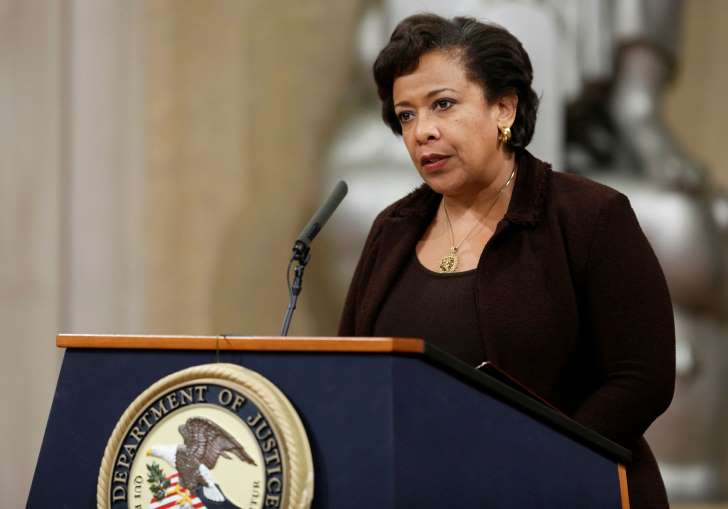 Gary Cameron/REUTERS U.S. Attorney General Loretta Lynch.
