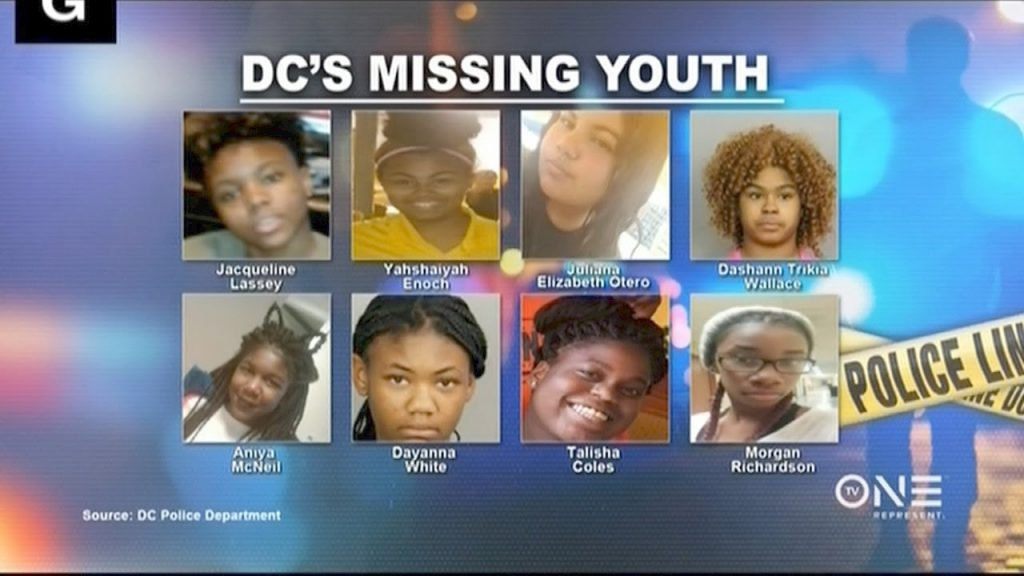 Image result for missing black girls in dc