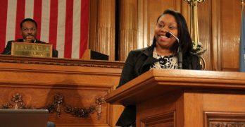 "Alderwoman Chantia Lewis says, ""Prevention Over Incarceration, Always!"""