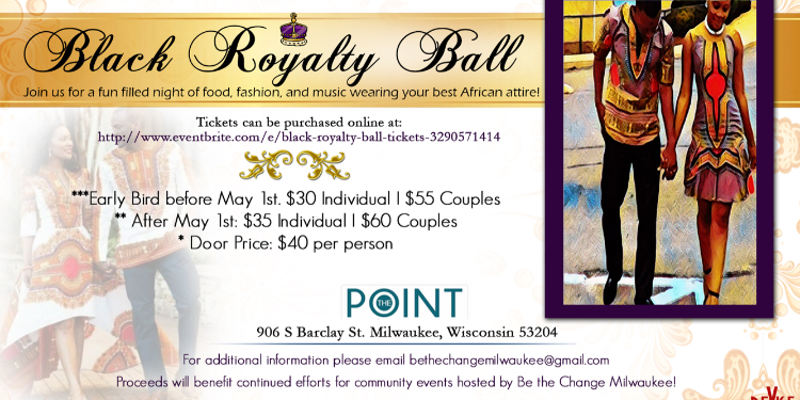 Black Royalty Ball Registration
