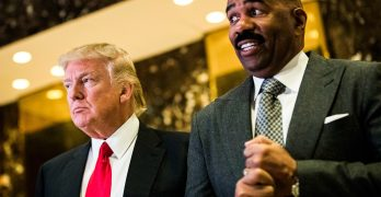 Steve Harvey Admits He Regrets Not Listening to His Wife About Skipping His Meeting With Trump