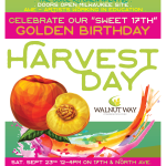 Walnut Way Celebrates its 17th Golden Birthday at Annual Street Festival Harvest Day